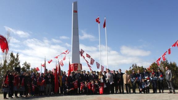 18 Mart Şehitleri Anma Günü ve Çanakkale Zaferi'nin 101. yıldönümü  törenlerle kutlandı